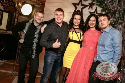 Новый год 2018: Hollywood, 1 января 2018 - Ресторан «Максимилианс» Новосибирск - 36