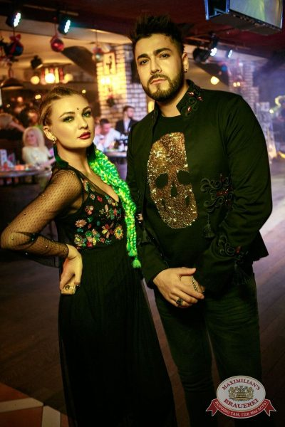 Новый год 2018: Hollywood, 1 января 2018 - Ресторан «Максимилианс» Новосибирск - 57