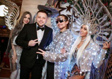 Новый год 2018: Hollywood, 1января2018