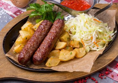 Традиционные колбаски