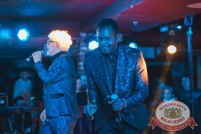 Herb McCoy, экс-участник знаменитой группы The Real Bad Boys Blue, 19 апреля 2018 - Ресторан «Максимилианс» Самара - 5