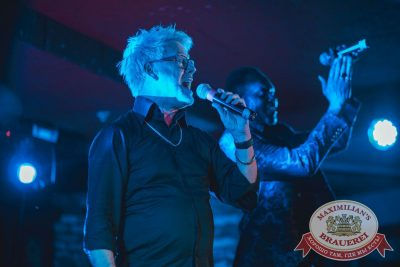 Herb McCoy, экс-участник знаменитой группы The Real Bad Boys Blue, 19 апреля 2018 - Ресторан «Максимилианс» Самара - 8
