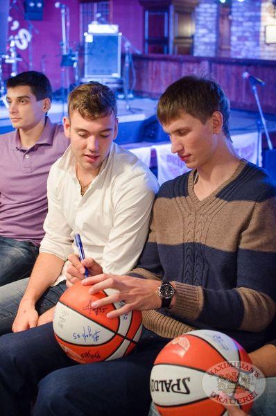 Баскетбольный клуб «Красные крылья», встреча в «Максимилианс», 9 октября 2013 - Ресторан «Максимилианс» Самара - 01