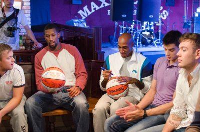 Баскетбольный клуб «Красные крылья», встреча в «Максимилианс», 9 октября 2013 - Ресторан «Максимилианс» Самара - 04