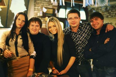 Резиденты Comedy Club Олег и Гавр, 19 октября 2012 - Ресторан «Максимилианс» Самара - 08