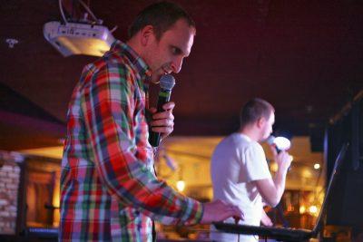 Резиденты Comedy Club Олег и Гавр, 19 октября 2012 - Ресторан «Максимилианс» Самара - 12