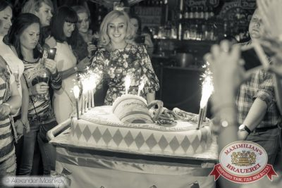 День рождения ресторана: нам 3 года! Специальный гость: Анжелика Варум, 20 мая 2015 - Ресторан «Максимилианс» Самара - 16