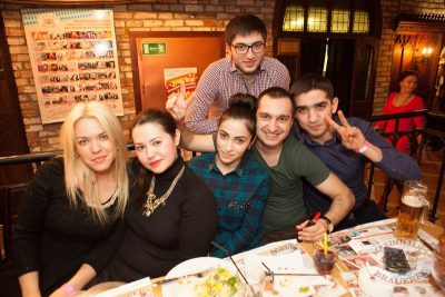 «Дыхание ночи»: Ladies Time. DJ Aliyana (Санкт-Петербург), 1 февраля 2014 - Ресторан «Максимилианс» Самара - 09