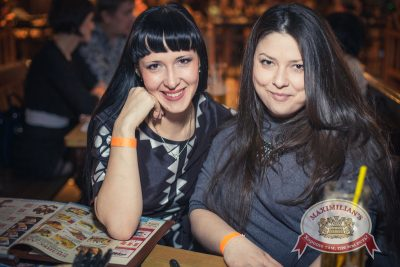 «Дыхание ночи»: DJ Alina Jameson на Репетиции Дня Защитника Отечества, 21 февраля 2014 - Ресторан «Максимилианс» Самара - 04