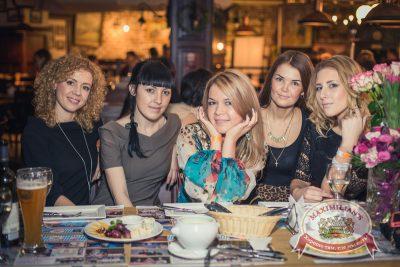 «Дыхание ночи»: DJ Alina Jameson на Репетиции Дня Защитника Отечества, 21 февраля 2014 - Ресторан «Максимилианс» Самара - 05