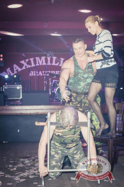 «Дыхание ночи»: DJ Alina Jameson на Репетиции Дня Защитника Отечества, 21 февраля 2014 - Ресторан «Максимилианс» Самара - 18