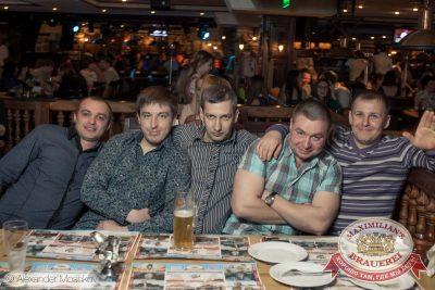 «Дыхание ночи»: Dj Anton (Москва), 28 марта 2015 - Ресторан «Максимилианс» Самара - 28