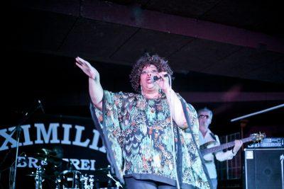 Эйда Дайер (США) и The «A» Band, 18 ноября 2012 - Ресторан «Максимилианс» Самара - 04