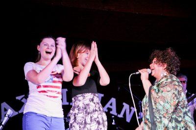 Эйда Дайер (США) и The «A» Band, 18 ноября 2012 - Ресторан «Максимилианс» Самара - 06