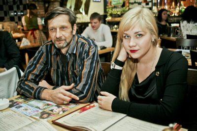 Эйда Дайер (США) и The «A» Band, 18 ноября 2012 - Ресторан «Максимилианс» Самара - 10