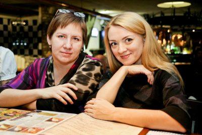 Эйда Дайер (США) и The «A» Band, 18 ноября 2012 - Ресторан «Максимилианс» Самара - 11