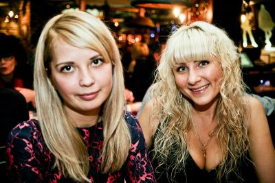 Эйда Дайер (США) и The «A» Band, 18 ноября 2012 - Ресторан «Максимилианс» Самара - 19