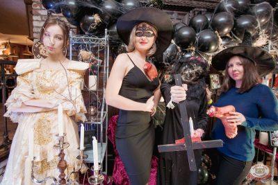 «Хэллоуин»: «Пиковая дама», 1 ноября 2019 - Ресторан «Максимилианс» Самара - 9