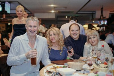 Карл Хламкин и «ОгнеОпаснОркестр», 27 октября 2012 - Ресторан «Максимилианс» Самара - 17