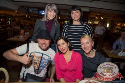 Константин Никольский, 23 апреля 2015 - Ресторан «Максимилианс» Самара - 29
