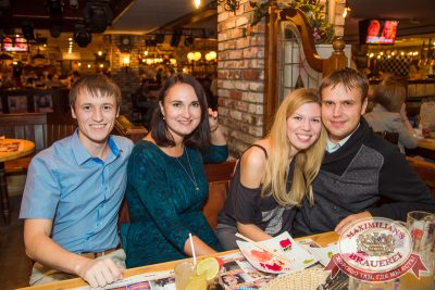 Шиз-оркестр «Каша», 15 октября 2014 - Ресторан «Максимилианс» Самара - 04