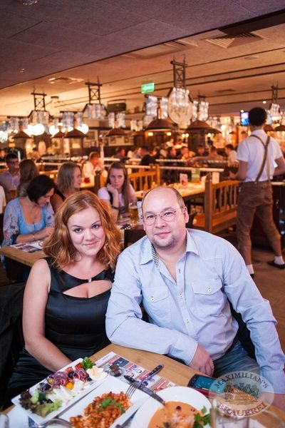 Старт 203-го фестиваля живого пива «Октоберфест», 20 сентября 2013 - Ресторан «Максимилианс» Самара - 06