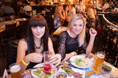 Старт 203-го фестиваля живого пива «Октоберфест», 20 сентября 2013 - Ресторан «Максимилианс» Самара - 11