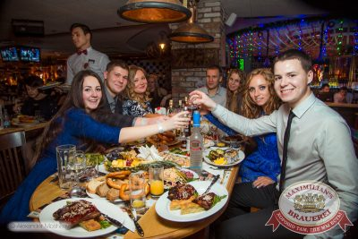 Встреча нового 2015 года в «Максимилианс»: Новогодняя «Горько!» с Мамульки bend, 1 января 2015 - Ресторан «Максимилианс» Самара - 37