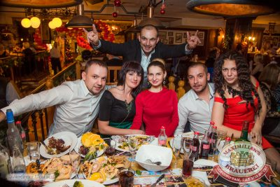 Встреча нового 2015 года в «Максимилианс»: Новогодняя «Горько!» с Мамульки bend, 1 января 2015 - Ресторан «Максимилианс» Самара - 38