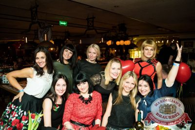 Международный женский день, 6 марта 2016 - Ресторан «Максимилианс» Самара - 31