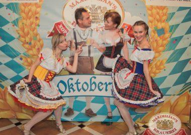 Открытие 204-го фестиваля живого пива «Октоберфест». Специальный гость: Мамульки Bend, 19сентября2014