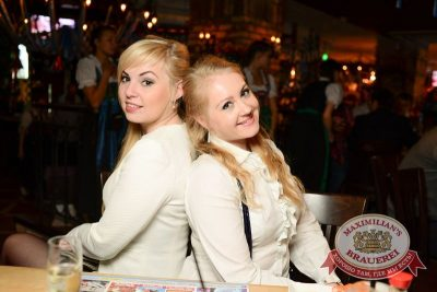 Октоберфест: Фестивальный уикенд. Выиграй тонну пива! 24 сентября 2015 - Ресторан «Максимилианс» Тюмень - 33