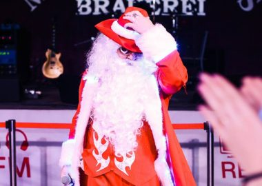 Репетиция Нового года сВИА «Holiday», 6декабря2014