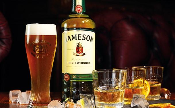 Сет пиво Maximilian's ипорция Jameson