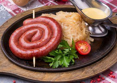 Австрийская колбаска из мяса домашней птицы