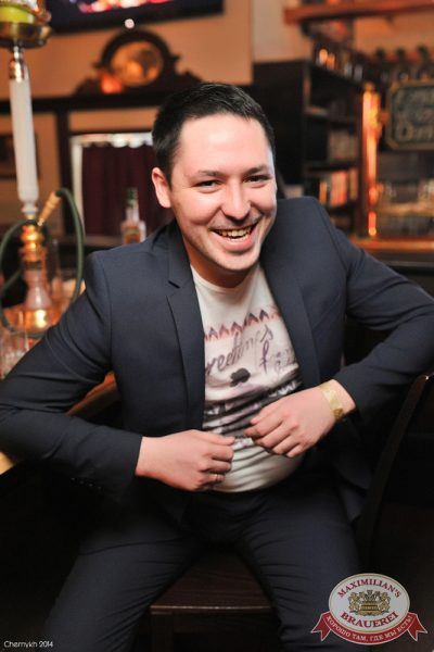 Александр Незлобин, 15 марта 2014 - Ресторан «Максимилианс» Уфа - 22