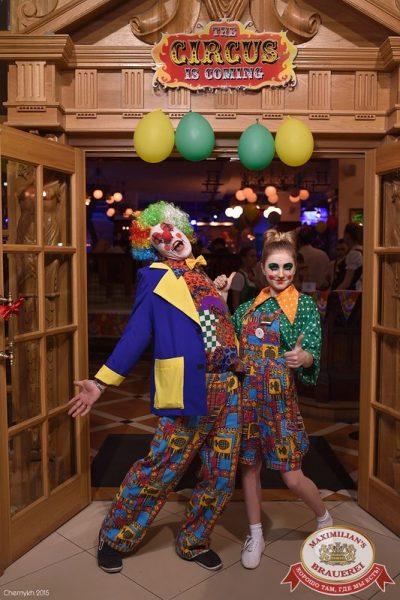 «Дыхание ночи»: Circus Show - Ресторан «Максимилианс» Уфа - 01