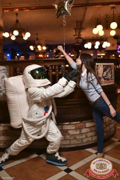 Удачная посадка! День космонавтики, 11 апреля 2015 - Ресторан «Максимилианс» Уфа - 01