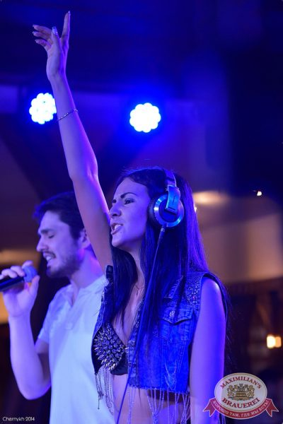 «Дыхание ночи»: DJ Alina Jameson (Уфа), 29 августа 2014 - Ресторан «Максимилианс» Уфа - 02
