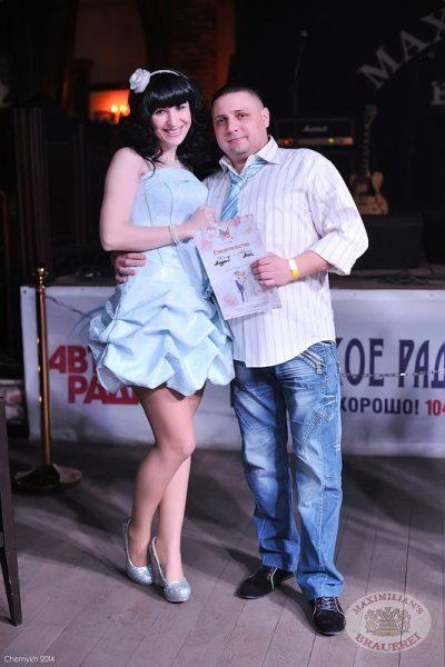«Дыхание ночи»: LTime. DJ Memfisa на вечеринке «Оскар за любовь», 14 февраля 2014 - Ресторан «Максимилианс» Уфа - 23
