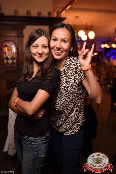 «Дыхание ночи»: Dj Pasha Portnov (Москва), 28 августа 2015 - Ресторан «Максимилианс» Уфа - 24