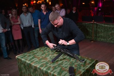 День защитника Отечества, 22 февраля 2016 - Ресторан «Максимилианс» Уфа - 01