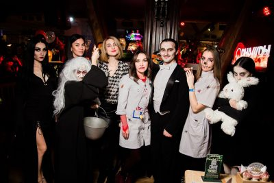«Хэллоуин»: «Семейка Аддамс», 2 ноября 2019 - Ресторан «Максимилианс» Уфа - 45