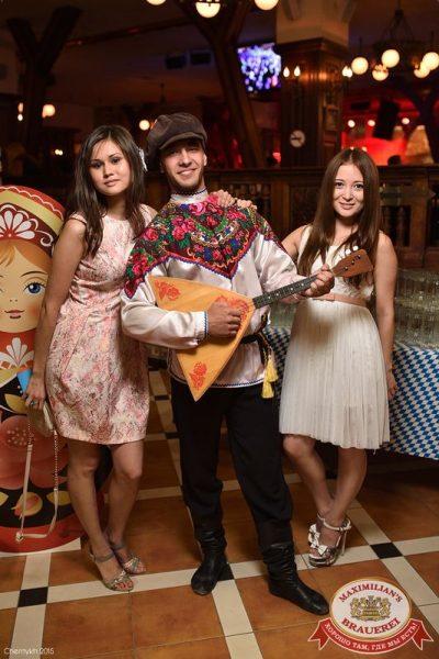 «Дыхание ночи»: Матрешка-party, 25 июня 2015 - Ресторан «Максимилианс» Уфа - 08