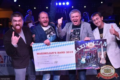 Финал проекта «Maximilian's Band», 7 октября 2015 - Ресторан «Максимилианс» Уфа - 03