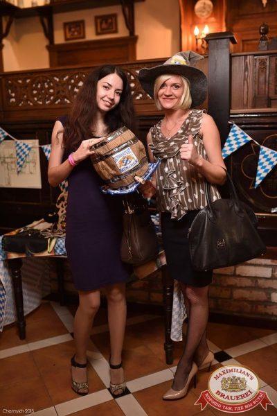 Октоберфест: Фестивальный уикенд. Выиграй тонну пива! 2 октября 2015 - Ресторан «Максимилианс» Уфа - 04