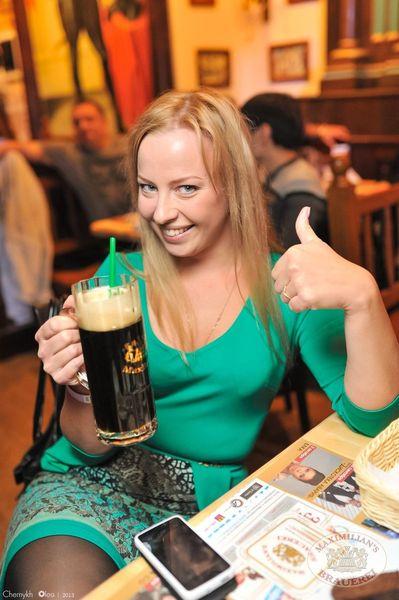 Старт 203-го фестиваля живого пива «Октоберфест», 20 сентября 2013 - Ресторан «Максимилианс» Уфа - 17